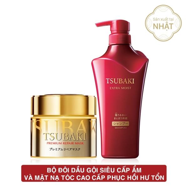 Bộ đôi dầu gội siêu cấp ẩm và mặt nạ tóc cao cấp phục hồi hư tổn nhập khẩu