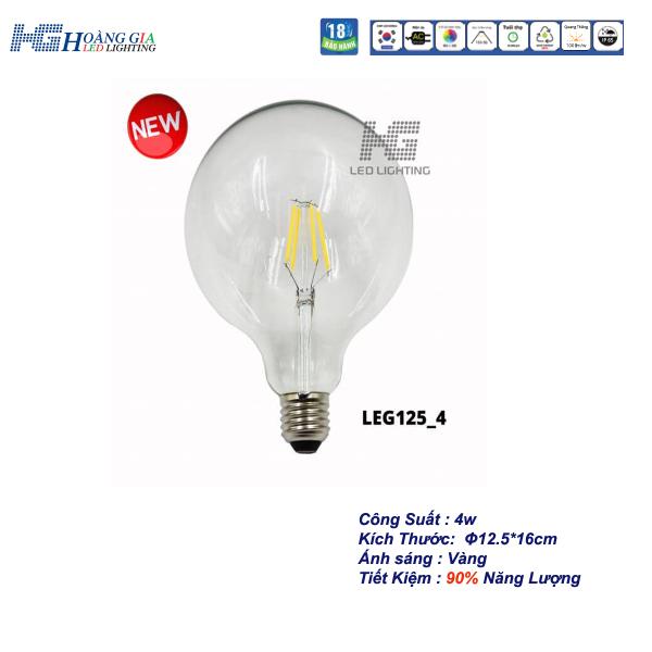 Đèn LED Trang Trí Edison G125 4W