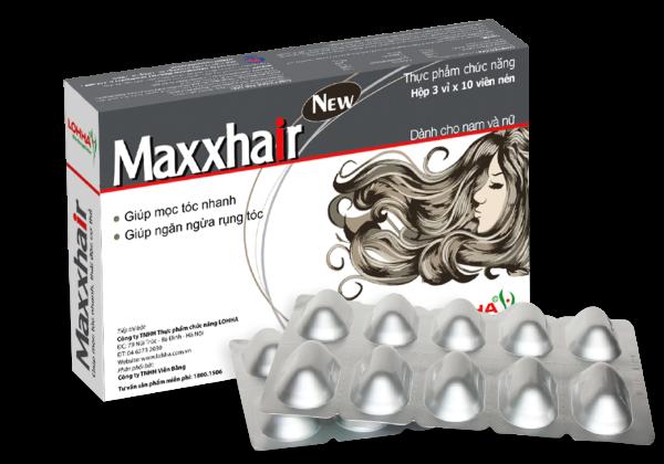 Maxxhair Mọc Tóc ( Mua 6 tặng 1 bằng hình thức nhắn tin tích điểm ) giá rẻ