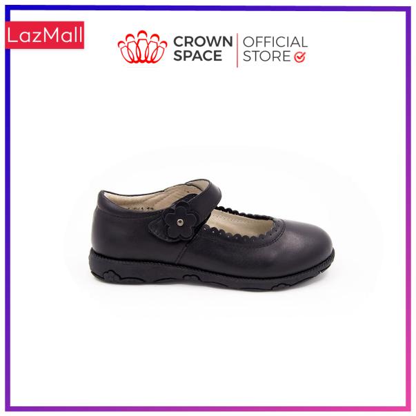 Giày Búp Bê Đi Học Bé Gái Crown Space UK School Shoes CRUK3041 Cao Cấp Nhẹ Êm Thoáng Mát Size 30-36/4-14 Tuổi giá rẻ