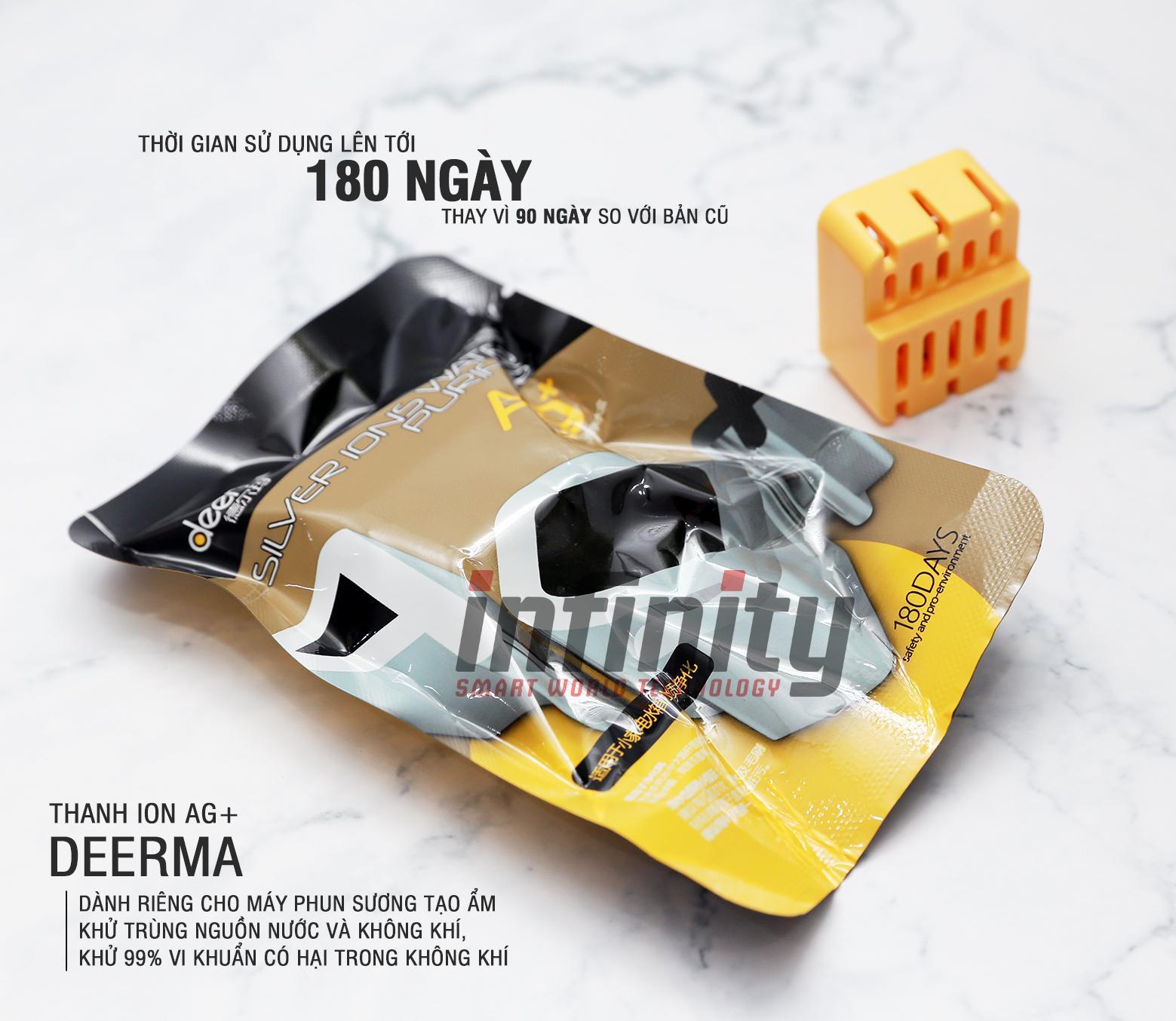 Bảng giá Lõi iOn Ag+ Deerma khử khuẩn không khí & nguồn nước (New Design)
