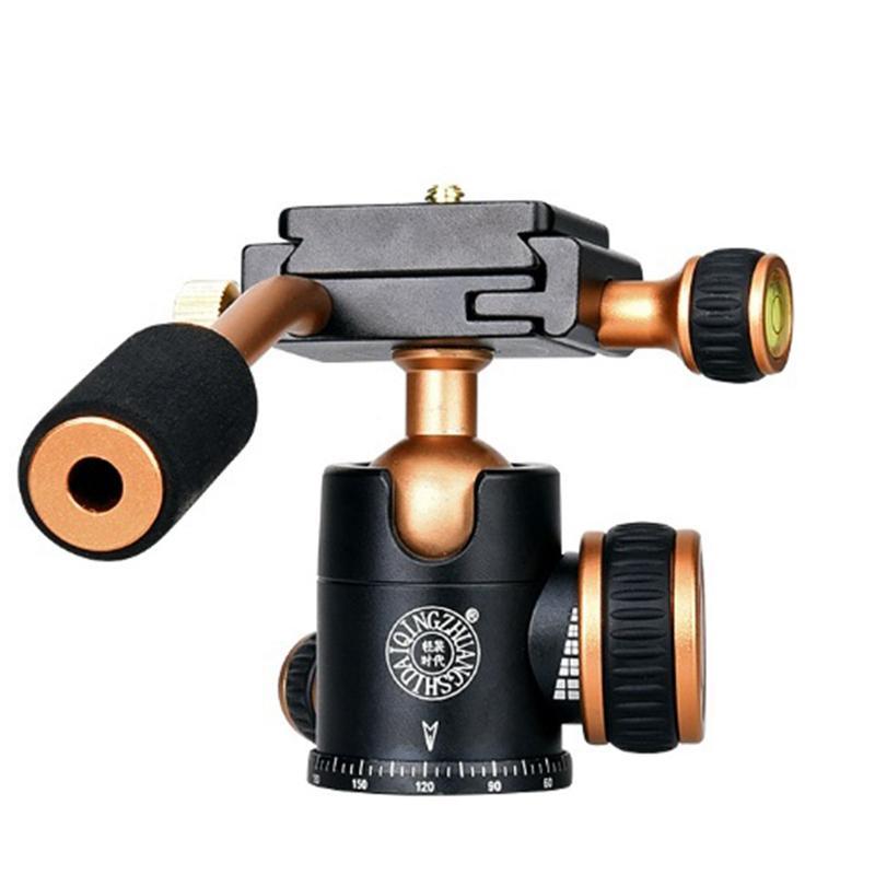 Q160 Professional Travel Camera Tripod Ball Head Handle Pan Head Compatibility For Digital Camera Giá Giảm