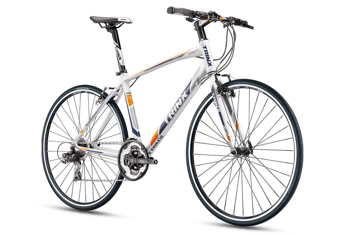 Mua Xe đạp thể thao TRINX FREE 1.0 2018 Trắng xám