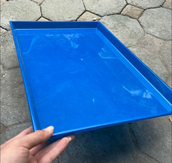 Khay mâm nhựa lót chuồng vệ sinh 58x42cm cho chó mèo và thú cưng