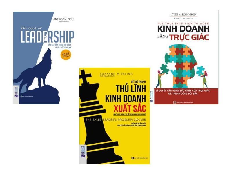 Combo Lãnh đạo đội nhóm vô địch: The Book Of Leadership - Dẫn Dắt Bản Thân, Đội Nhóm Và Tổ Chức Vươn Xa + Kinh Doanh Bằng Trực Giác + Để Trở Thành Thủ Lĩnh Kinh Doanh Xuất Sắc (tặng kèm bookmark Phê Sách)
