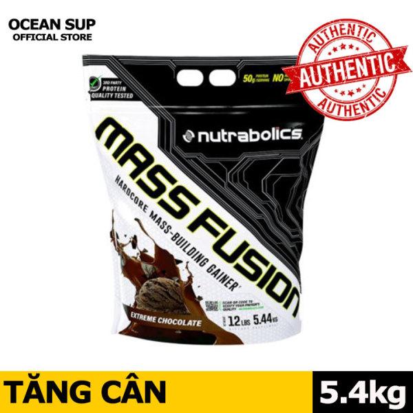 Nutrabolics Mass Fusion Tăng Cân Tăng Cơ Bịch 5.4kg cao cấp