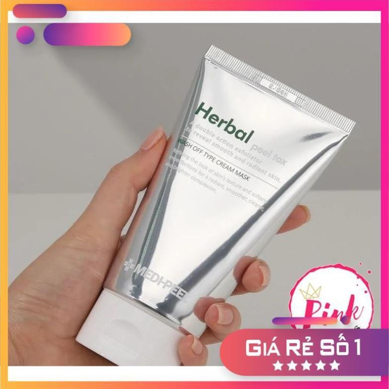 Mặt nạ Medipeel Herbal Peel Tox chiết xuất từ Rau Má giảm mụn 120mL