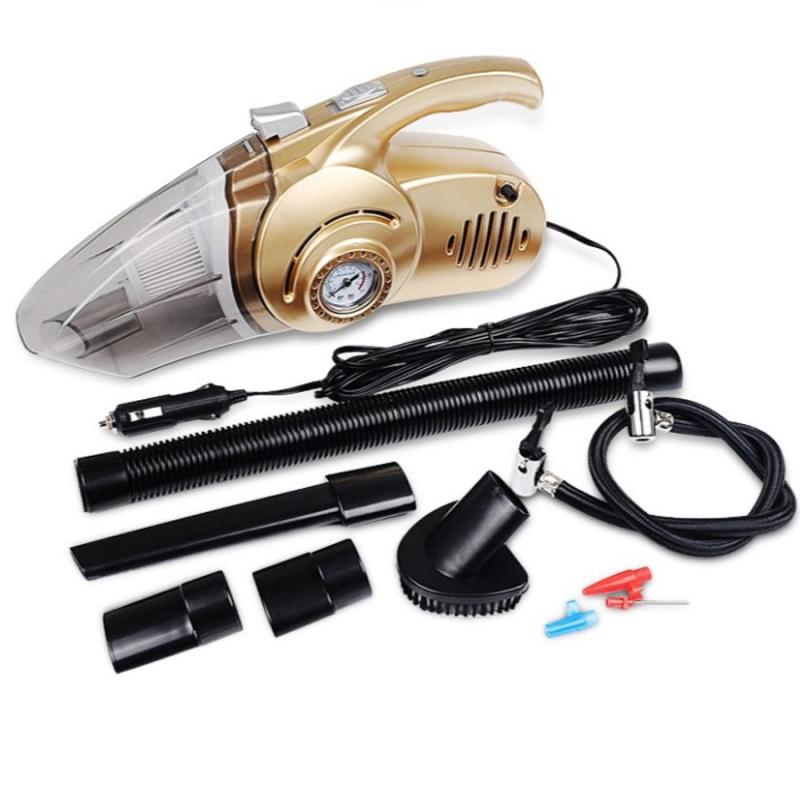 Máy Hút Bụi Trên Ô Tô , Máy Hút Bụi Oto Cầm Tay, Máy hút bụi xe ôto cầm tay 4 trong 1 Kiêm đèn pin bơm lốp và đo áp suất bảo hành uy tín lỗi 1 đổi 1