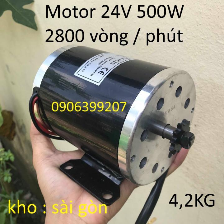 motor 24v 500w