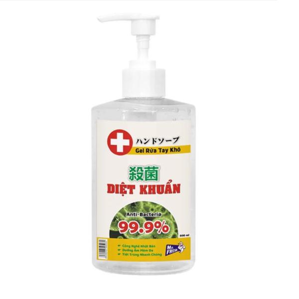 Nước rửa tay khô diệt khuẩn an toàn Mr. Fresh 500ml Hương Xả (dạng gel) BH719 giá rẻ