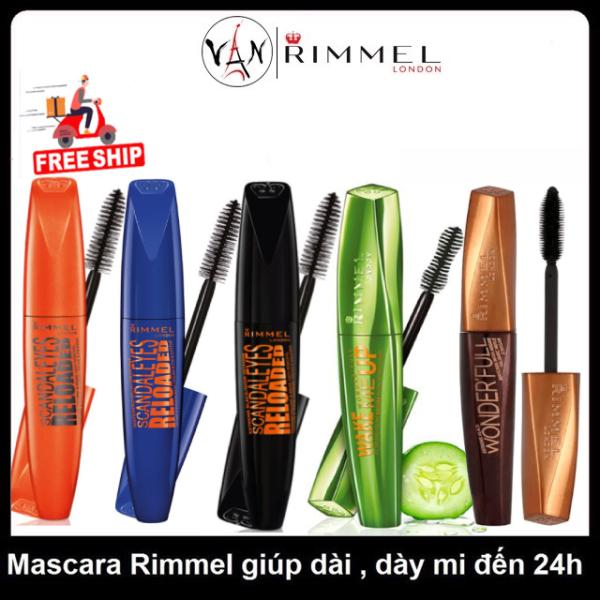 [HCM][ Rimmel london ]  Mascara rimmel london làm dày và dài mi đến 24h - Hàng có vỉ