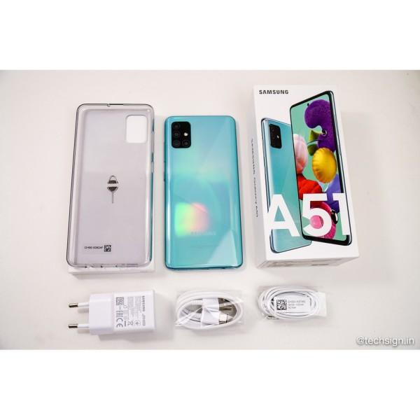 Điện thoại Samsung Galaxy A51 (6GB/128GB) Bộ 4 Camaera sau- Pin 4000mAh- BH 12 tháng