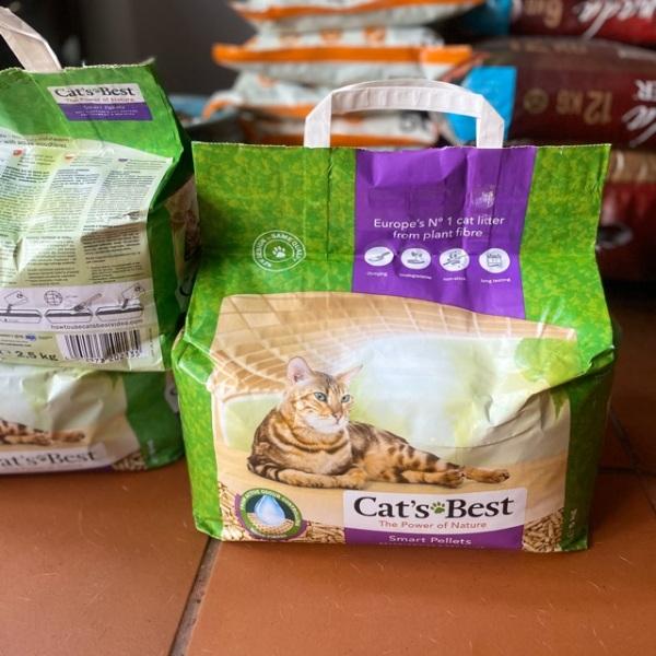 Cat's best smart pellets cát vệ sinh cho mèo nhập khẩu 5kg, chất lượng đảm bảo an toàn đến sức khỏe người sử dụng, cam kết hàng đúng mô tả