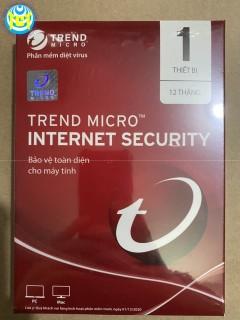 Phần mềm diệt virus Trend Micro Internet Security 1 máy tính 1 năm Chính Hãng thumbnail