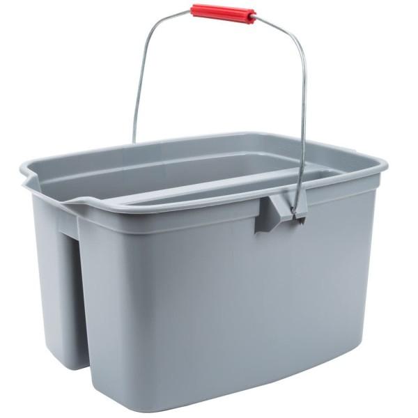 Xô lau vệ sinh gương kính 2 ngăn
