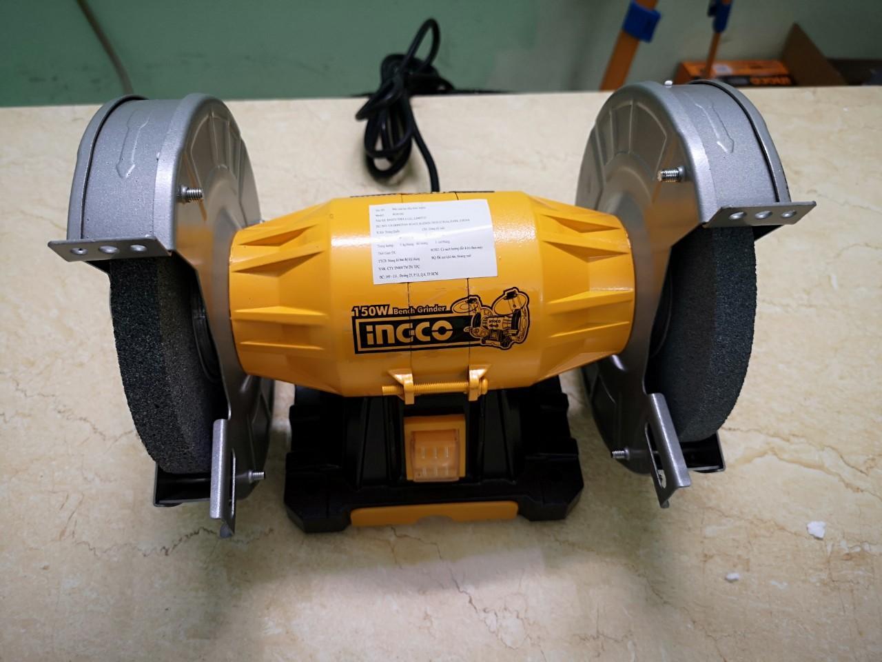 6inch (150mm) Máy mài để bàn 2 đá 150W INGCO BG61502