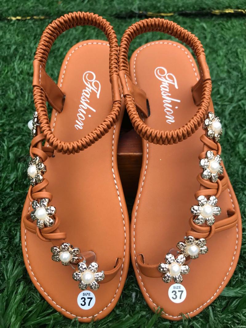 [HCM]Giày Sandal Nữ Thời Trang Bền Đẹp
