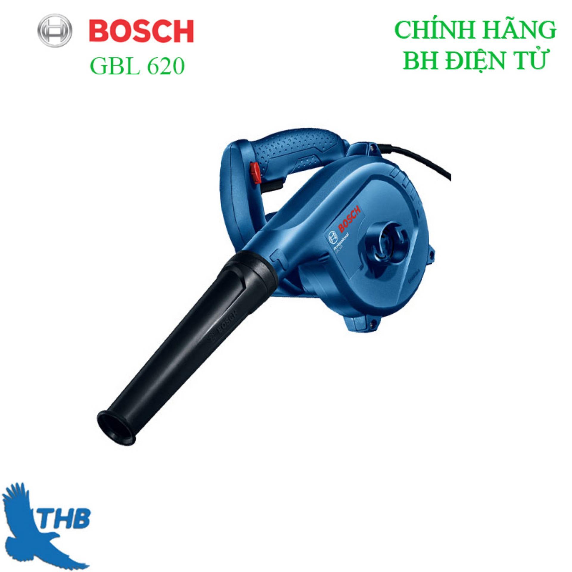 Máy thổi bụi Bosch GBL 620 Công suất 620w bảo hành điện tử 12 tháng