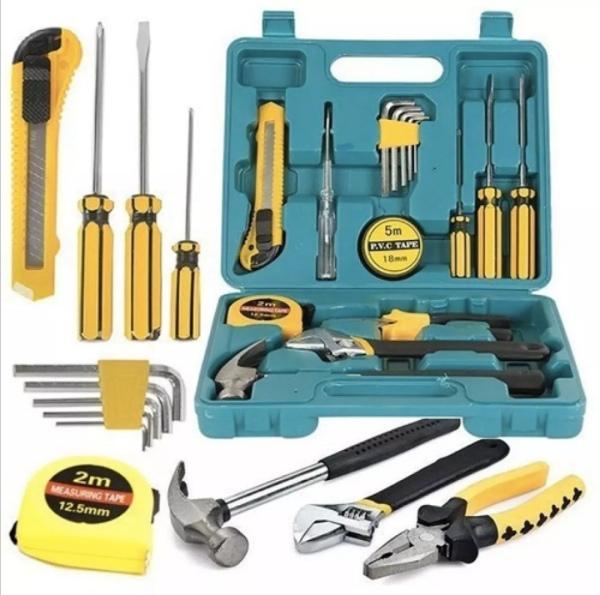 Bộ dụng cụ sửa chữa đa năng 16 chi tiết. Hàng loại 1.