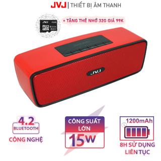 Loa Bluetooth không dây Mini S20 JVJ bass mạnh - KÈM thẻ nhớ 32G Loa Kết Nối Laptop Smart Tivi Siêu Bass Jack 3.5mm, 1200mAh AUX Loa Bluetooth Siêu Bass, dùng cho các dòng iPhone Xiaomi Huawei Samsung MIFA.., loa không dây Bh 12 Tháng thumbnail