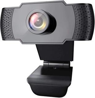 [freeship]webcam cho học và làm việc online làm việc trực tuyến web cam kèm micro Haki W01 cho hình ảnh rõ nét, âm thanh sống động tiện lợi làm việc tại nhà, họp trực tuyến, online, học sinh học online thumbnail