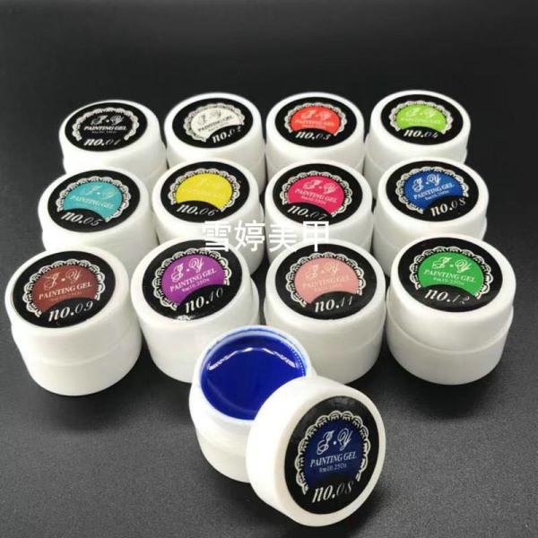 Set gel vẽ 12 màu hàng chính hãng bao đặc chuẩn màu giá rẻ