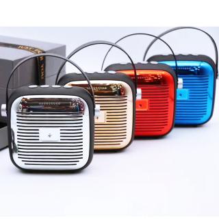 [Âm thanh cực đã] Loa bluetooth mini kểu radio 4.0 , loa Bluetooth X8 siêu bass, loa wifi , loa hifi loa bluetooth NIQIN âm thanh rõ nét, tiếng bass mạnh mẽ thumbnail