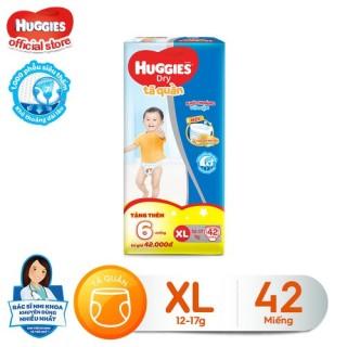 [Tặng thêm 6 miếng mỗi gói] Tã quần HUGGIES DRY PANTS BIG JUMBO M54 - L48 - XL42 - XXL38 thumbnail
