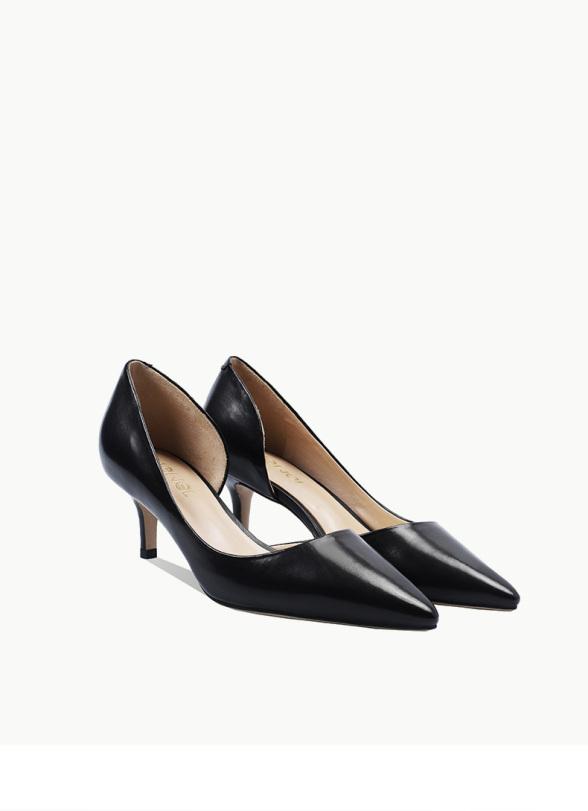 Giày cao gót khoét eo da lì sang chảnh A54 (giảm 1 size) giá rẻ