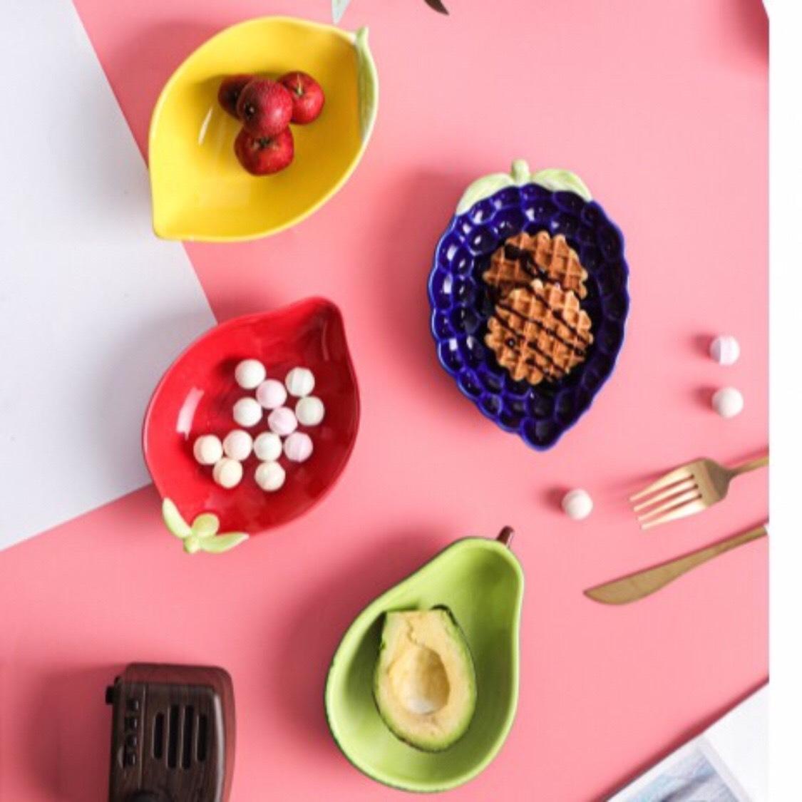 Chén đĩa ăn Dặm Hình Hoa Quả Giảm Cực Khủng