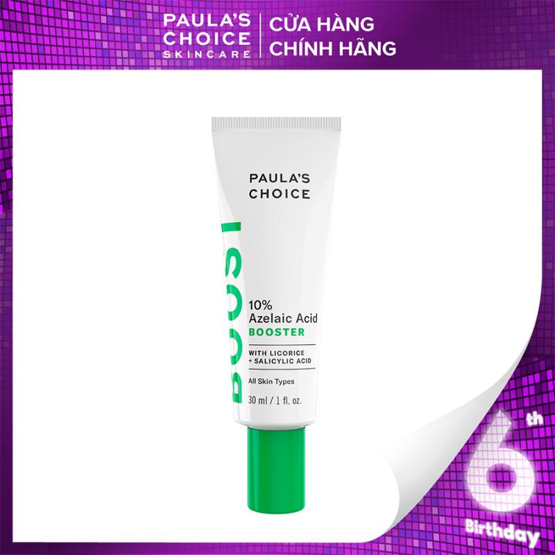 Tinh chất tăng cường giảm sưng đỏ và làm mờ vết thâm Paulas Choice 10% Azelaic Acid Booster - Full size 30ml Mã: 7750 giá rẻ
