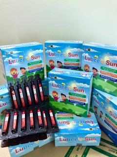 Hỗ trợ giảm ho, đau họng, khản tiếng Siro ho Lubeesun 20 ống -10 ml thumbnail