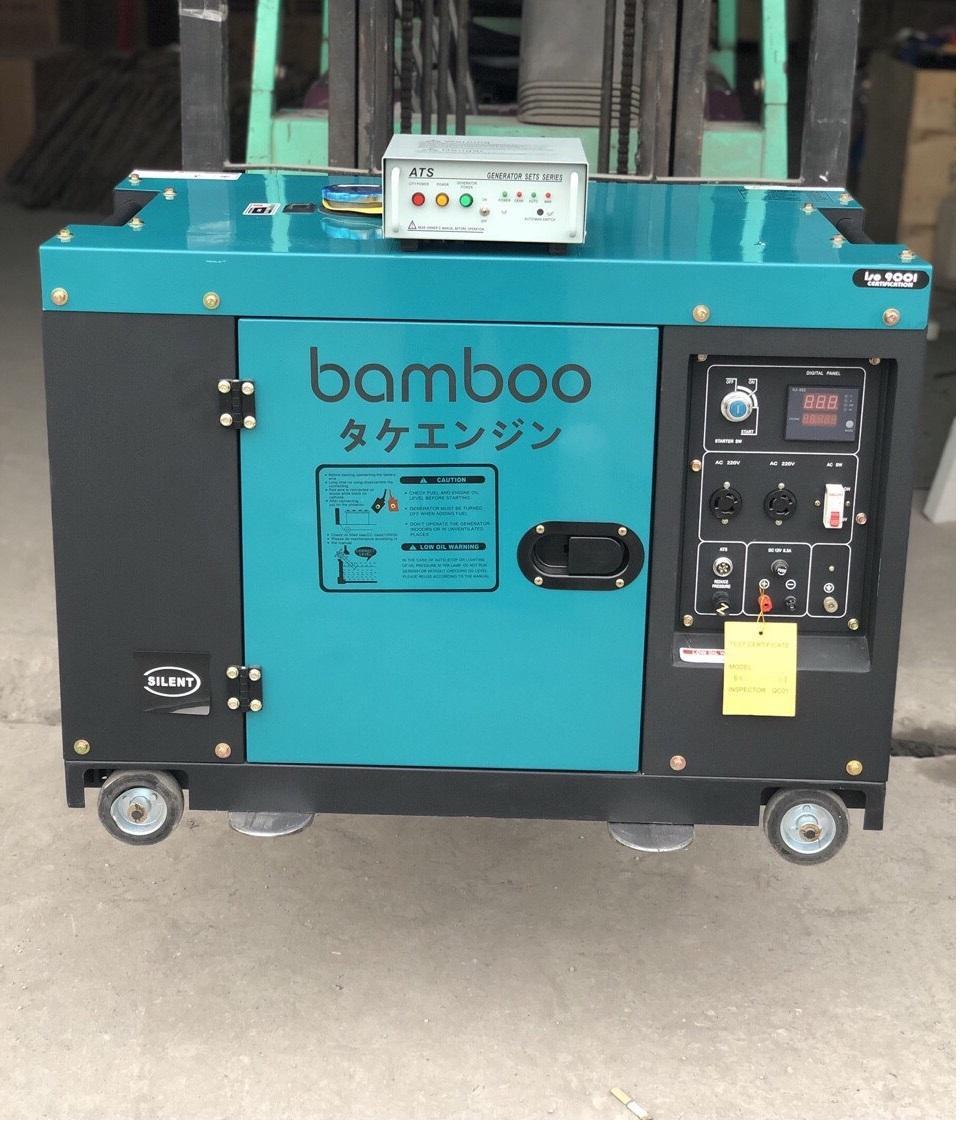 Máy phát điện chạy dầu BmB 9800EAT 1PHA 8kw