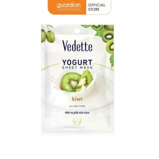 Mặt Nạ Giấy Vedette Sữa Chua Kiwi 22ml