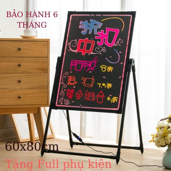 Bộ Bảng Led Huỳnh Quang 60cmx80cm Tặng Full Phụ Kiện