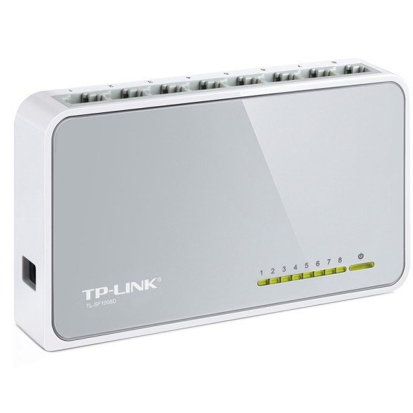 Bảng giá Thiết bị chia mạng TP-Link TL - SF1008D 8 cổng, sản phẩm tốt với chất lượng và độ bền cao, cam kết giống như hình Phong Vũ