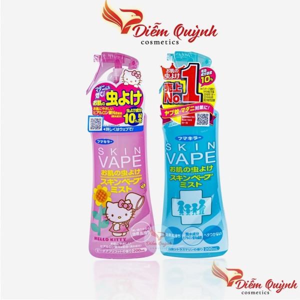 Xịt chống muỗi và côn trùng cắn  skin vape Nhật Bản 200ml