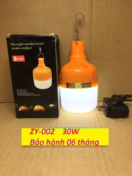 Bóng đèn LED sạc tích điện 30w, bóng đèn tích điện 3 chế độ