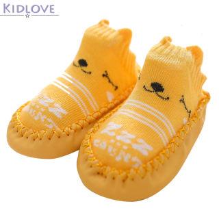 Kidlove 1 Đôi Vớ Giày Em Bé, Vớ Tập Đi Hoạt Hình Chống Trượt Cho Trẻ Sơ Sinh Có Đế Cao Su