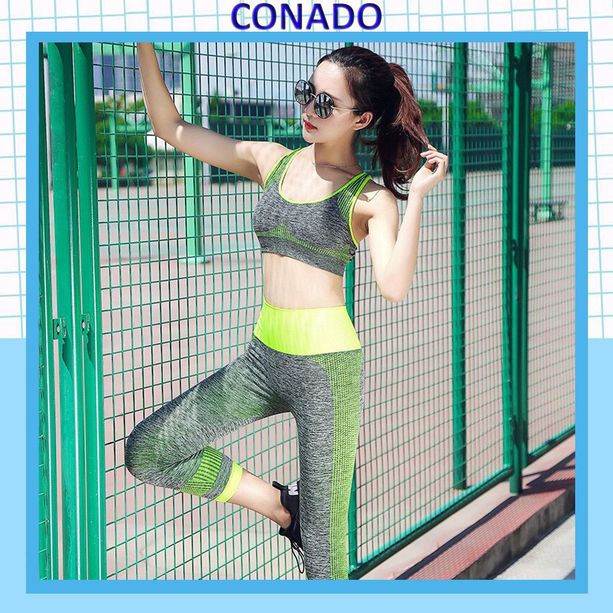 Bộ Quần Áo Tập Gym Yoga Aerobic Thể Thao Nữ YT11, Kiểu Dáng Phong Cách Thời Trang, Co Giãn Tốt, Thoải Mái