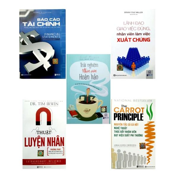 Combo bộ sách lãnh đạo-Bí kíp thu hút nhân tài cho doanh nghiệp của bạn