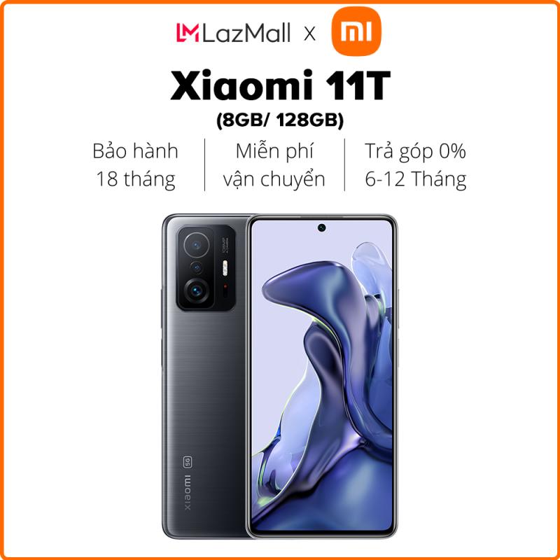 Ưu đãi đặt trước 7-22/10,  Mở bán chính thức 23/10   Điện thoại Xiaomi 11T 8/128GB   Hàng chính hãng   Bảo hành 24 tháng
