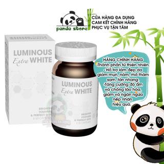 Viên uống trắng da Luminous Extra White USA bổ sung Glutathione hỗ trợ tăng sinh Collagen giúp đẹp da giảm nám tàn nhang làm mờ thâm sạm chống lão hóa da. Hộp 60 viên thumbnail