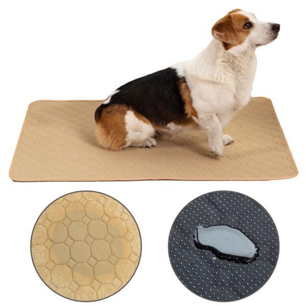 YINLMALL Máy giặt được Chất liệu dày hơn Dành cho chó nhỏ, trung bình, lớn Có thể tái sử dụng Không thấm nước Bô chó Đồ cho chó Mat thấm Tấm lót cho thú cưng Pad huấn luyện chó