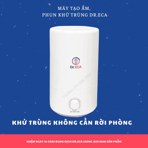 Máy tạo độ ẩm khử trùng, khử mùi không khí Dr.ECA (4 lít/ 5lít) dùng trong văn phòng, phòng khách, phòng bếp