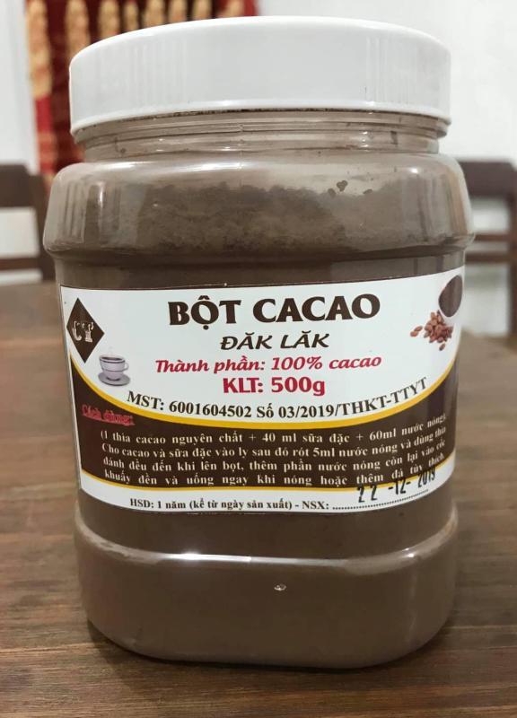 Bột Cacao Đắk Lắk cao cấp