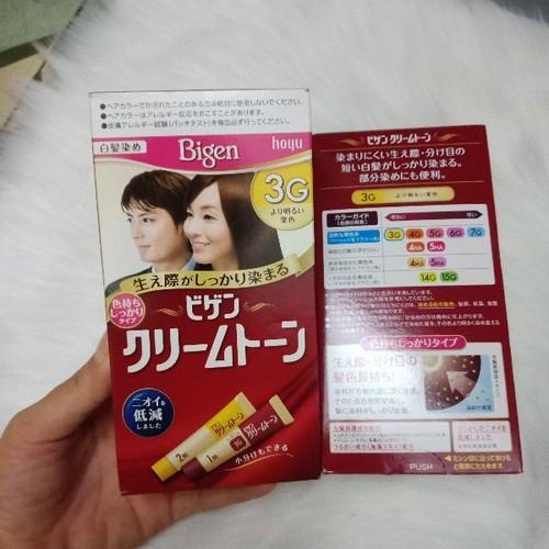 Bigen 3G nhuộm tóc nội địa Nhật Bản nhập khẩu