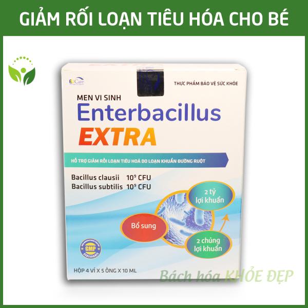 Men vi sinh cho bé giảm rối loạn tiêu hóa Enterbacillus - Hộp 20 ống bổ sung 2 tỷ lợi khuẩn giá rẻ