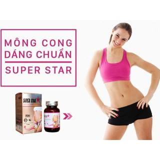 Viên uống giảm cân Super Star - Bí quyết cho thân hình hoàn hảo (Hộp 36 viên) thumbnail