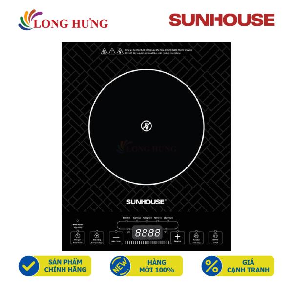 Bếp hồng ngoại Sunhouse SHD6011 - Hàng chính hãng - Công suất: 2000 W, 5 chế độ nấu, nút nhấn điện tử dễ sử dụng
